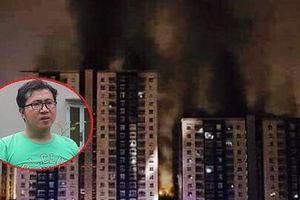 Cháy chung cư quận 8 TP.HCM: 'Hôm qua, tôi còn mắc kẹt trong thang máy, rơi từ tầng 6 xuống tầng 1'