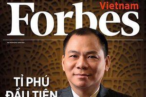 Tài sản ông Phạm Nhật Vượng đạt 6 tỷ USD