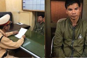 CSGT Hà Nội bắt giữ đối tượng bị truy nã đang bỏ trốn
