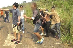 Triệt phá đường dây vận chuyển ma túy 'khủng' xuyên quốc gia