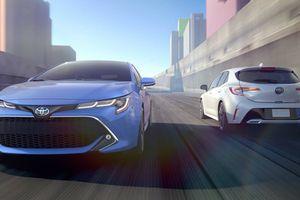 Soi chi tiết Toyota Corolla 2019 phiên bản hatchback