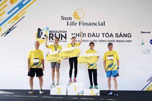 Hơn 6000 người tham dự 'Sun Life Việt Nam- Đường chạy Khởi đầu tỏa sáng 2018'