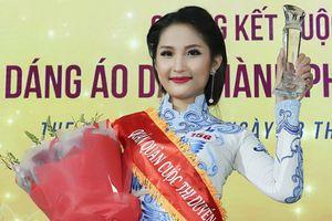 Top 21 Miss Photo 2017 đăng quang Duyên dáng áo dài 2018