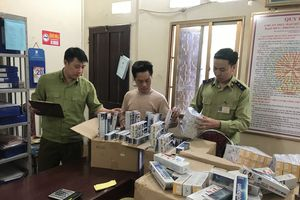 Bắt giữ hơn 500 tuýp thuốc nhuộm tóc hiệu JIRYING nguồn gốc Trung Quốc