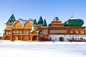 Độc đáo cung điện gỗ của Sa hoàng Alexei Mikhailovich