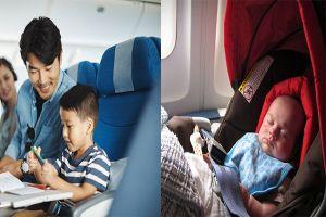 Trẻ em đi máy bay cần mang theo giấy tờ gì và những điều cần lưu ý