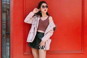 Xuýt xoa với vẻ ngoài vừa xinh đẹp lại năng động của cô sinh viên ĐH Công nghiệp Hà Nội