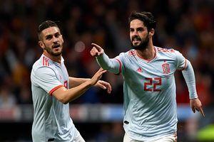 Isco lập hat-trick, Tây Ban Nha vùi dập Argentina 6-1