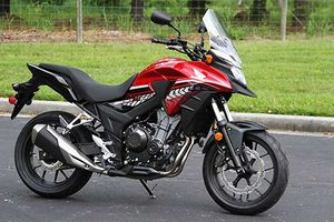 Honda VN sắp phân phối môtô CB500X giá 177 triệu?