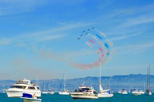 Choáng ngợp với màn Air show của Hải quân Mỹ
