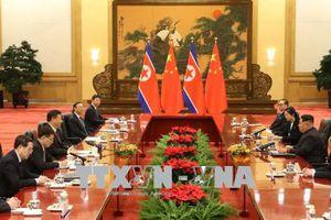 Chủ tịch Trung Quốc hội đàm với nhà lãnh đạo Triều Tiên tại Bắc Kinh
