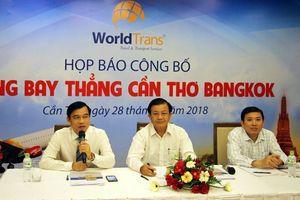 Cần Thơ: Mở đường bay thẳng từ Cần Thơ đến Bangkok, Thái Lan
