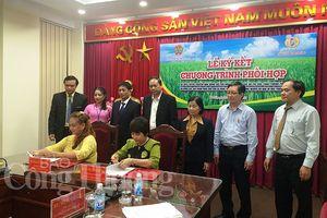 Ký kết hợp tác giữa Hội Nông dân Việt Nam và Công ty TNHH Con Cò Vàng