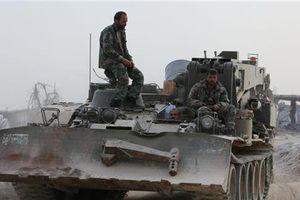 Quân Syria sắp đánh tan phe nổi dậy cố thủ Đông Ghouta
