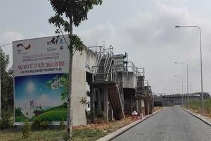 Nhà máy xử lý nước thải xây 15 năm sắp hoạt động