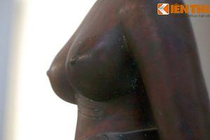 Ngắm loạt tượng khỏa thân tuyệt vời của người Chăm cổ