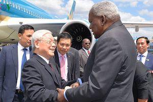 Tổng Bí thư Nguyễn Phú Trọng thăm cấp Nhà nước CH Cuba