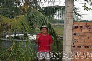 Nhà Bè (TPHCM): Xây dựng một dự án, hàng ngàn m2 đất liền kề trở thành… 'ốc đảo'