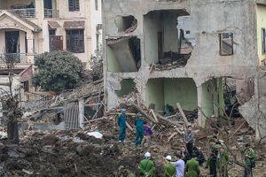Chưa có kết luận cuối cùng về vụ nổ kho phế liệu ở thôn Quan Độ