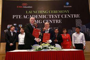 Khánh thành Trung tâm đánh giá tiếng Anh theo chuẩn PTE Academic tại Hà Nội