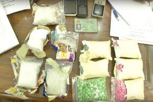 3 'nữ quái' vận chuyển hơn 1,5kg ma túy đá, 2.000 viên ma túy tổng hợp