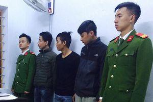 Quảng Bình: Nhóm 9X gây ra hàng chục vụ cướp giật sa lưới