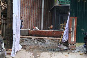 Lờ chỉ đạo của Phó Thủ tướng: Mương Phan Kế Bính tiếp tục xây dựng