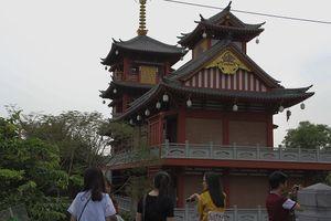 Độc đáo ngôi chùa có kiến trúc Nhật Bản ở TP.HCM