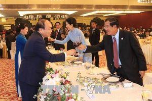 Thủ tướng Nguyễn Xuân Phúc và Phu nhân chủ trì tiệc chiêu đãi GMS6 - CLV10