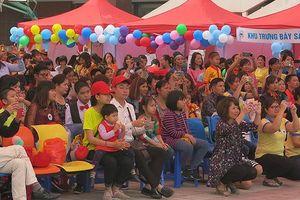 600 trẻ tự kỷ tham gia Ngày hội 'Vòng tay yêu thương'