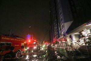 TPHCM tính phương án cứu hỏa bằng trực thăng