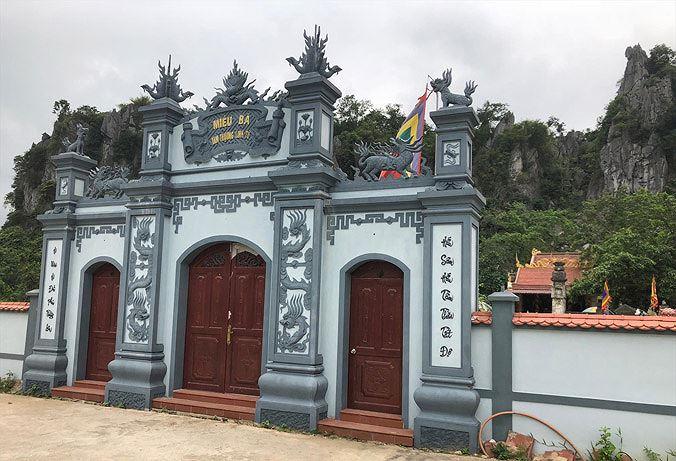 Mục sở thị 'đền ông Dánh'