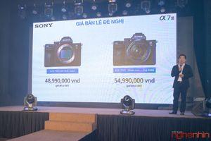Ra mắt Sony A7 III tại Việt Nam, giá 49 triệu cho thân máy