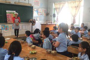 Tỉnh Hà Tĩnh triển khai dự án 'Bữa ăn học đường'
