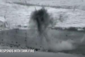 Xe tăng Israel nã đạn diệt 2 khủng bố xâm nhập dải Gaza