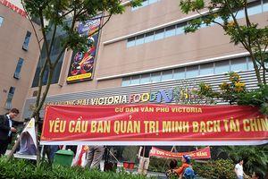 Cư dân Văn Phú Invest xuống đường 'biểu tình' đòi quyền lợi