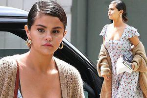 Selena Gomez gợi cảm ra phố, thờ ơ khi Justin Bieber cặp kè gái lạ