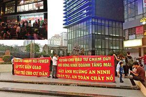 Hà Nội: Cư dân chung cư yêu cầu hoàn thiện PCCC