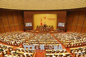 Thông cáo số 12 kỳ họp thứ 5, Quốc hội khóa XIV