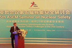 Việt Nam tăng cường hợp tác trong lĩnh vực năng lượng nguyên tử