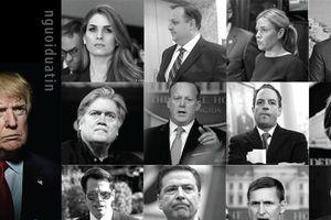 Bộ máy chính quyền của TT Donald Trump đã 'rơi rụng' ra sao sau hơn một năm?