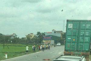 Thái Bình: Hai mẹ con tử vong thương tâm dưới bánh xe tải