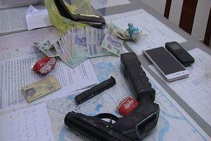 Nhóm cướp Đồng Nai dùng súng lấy 27 tấn hàng