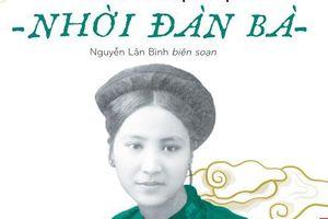 Sách về phụ nữ thế kỷ trước của Nguyễn Văn Vĩnh ra mắt
