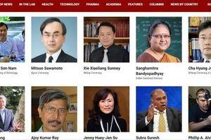 Giáo sư, Phó giáo sư người Việt lọt vào top 100 nhà khoa học xuất sắc Châu Á