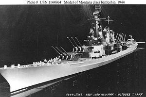Kinh ngạc siêu thiết giáp hạm to bằng tàu sân bay của Mỹ