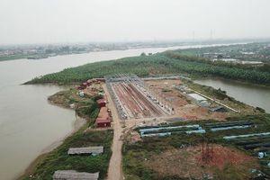 Hải Dương: Đại công trình nhà xưởng không phép mọc trên sông Thái Bình
