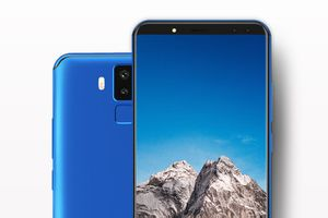 Chi tiết smartphone 4 camera, màn hình 18:9, RAM 6 GB, pin 6.200 mAh, giá 'mềm'