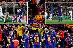 Messi im tiếng, Barcelona vẫn thắng đậm vì Roma tự sát