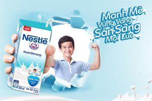 Nestlé ra mắt sữa tiệt trùng mới